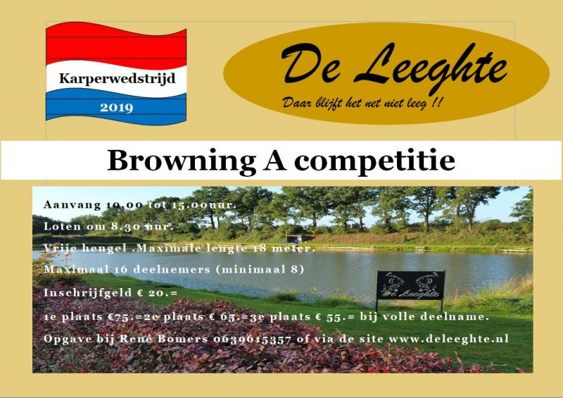 Browning Competitie